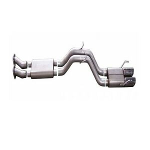 Gibson 17405 Aluminized Dual Exhaust System for Grand Cherokee WK - 6.1L