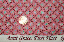 """AUNT GRACE """"FIRST PLACE"""" QUILT FABRIC CIRCA 1930's BY THE YARD MARCUS 4480-0326"""