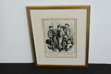 Young Boys-Circa1869 Original Limited Edition (2 of 100) Art Print- Signed!!!!!