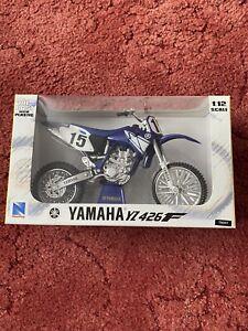 newray 1:12 motocross Diecast Model Bike Yamaha Yz426F