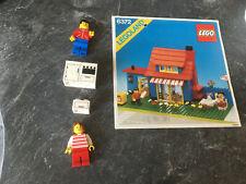 LEGO Haus mit Garten 6372 mit Bauanleitung, Markisenaufkleber fehlt