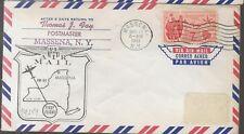 1961 FFC  Cover AM94 Massena NY