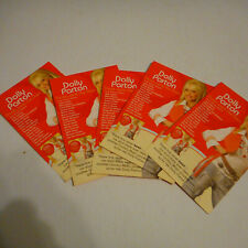 Lot Of 5 Dolly Parton Those Were The Days  Photo Postcards