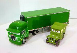 Disney Pixar Cars Gil Peterbilt Hauler Tractor Trailer 18 Wheeler Truck