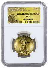 2009 $20 1 oz. Ultra High Relief Saint-Gaudens Double Eagle NGC MS70 SKU20885