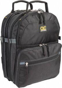 CLC 75 Pocket Black Ballistic Polyester Backpack Tool Bag