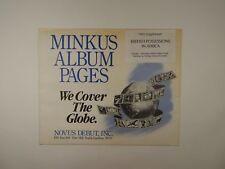 Minkus British Possessions In Africa 1991 Supplement Stamp Album Pages