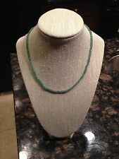 14kt Yellow Gold Emerald (15.60ct) necklace