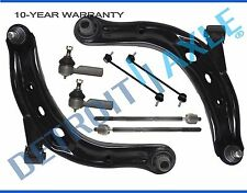 05-09 Ford Escape Mariner Mazda Tribute 8pc Front Lower Control Arm Tie Rod Kit