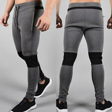 Men Sport Pants Long Trousers Tracksuit Fitness Workout Joggers Gym Sweatpants A