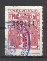 5502-RARO VALOR 112,50 PTS,DESCONOCIDO.SELLO FISCAL MUTUALIDAD JUDICIAL ESPAÑA.