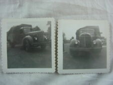Vintage Photos circa 1941 International Truck 820