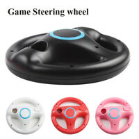 Game Racing Steering Wheel For Nintendo Wii Mario Kart Remote Controller  US