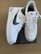 nike air force 1 lv8 utility white Sketch Uk Size 7.5 Box Included Used Once