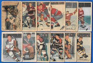 1953-54 PARKHURST 53-54 PARKIES NHL HOCKEY CARD 1-100 SEE LIST