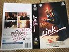 Locandina Cover Vhs LINK (1991) - Warner Video originale - Used