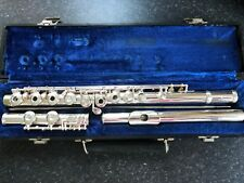 Professionally Serviced Gemeinhardt M3 Open Hole Flute **Solid Silver Head**