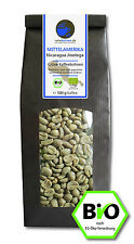 Bio Rohkaffee - Grüner Kaffee Nicaragua Jinotega (ganze Kaffeebohnen 500g)