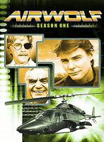 Airwolf First Season 1 DVD Jan-Michael Vincent Ernest Borgnine NEW