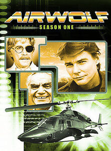 Airwolf - Season 1 ( DVD 2-Disc Set) like new