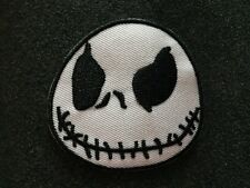 "High Quality Jack Skellington Nightmare Embroidered Iron On Patch (2.5"")"