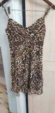 Guess Los Angeles Leopard Animal Print Dress size 5