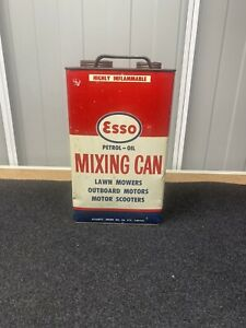 ESSO PETROL-OIL MIXING CAN