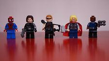 Lot de minifigs/figurines LEGO Marvel Super Heroes, comme neuves
