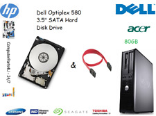 "80 GB Dell OptiPlex 580 3.5"" SATA disco duro (HDD) de reemplazo/UPGRADE"