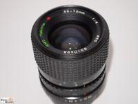 Contax / Yashica Zoom-Objektiv Tokina 35-70 mm 1:4 Ø 55mm lens