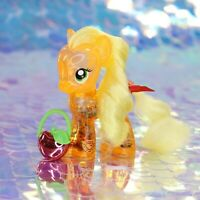 My Little Pony APPLEJACK Glitter Shaker Apples Orange Yellow G4 FiM MLP BD697