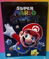 Super Mario Galaxy Official Strategy Premiere Edt. Guide Book Nintendo Power Wii