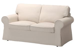 Newsy Original IKEA cover set for Ektorp 2 seat sofa in  LOFALLET BEIGE