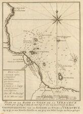 'Plan de la Rade & Ville de… Vera-Cruz'. Veracruz, Mexico BELLIN/SCHLEY 1758 map