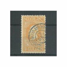 """Nederland 100 met """"AMSTERDAM-ANTWERPEN 1915""""  VFU/gebr  CV 45+ €"""