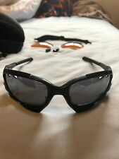 Oakley Racing Jacket Jawbone Sunglasses Black with Case, Cloth And Extra Lenses