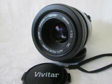 Vivitar 100mm f:3.5 Macro Auto Focus Lens Canon EF Mount Digital & Film