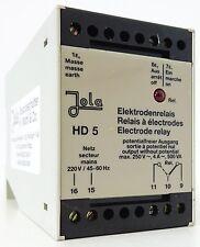 JOLA HD 5 Elektrodenrelais Electrode Relay 220V 45...60Hz LED-Anzeige 4A~ 500VA