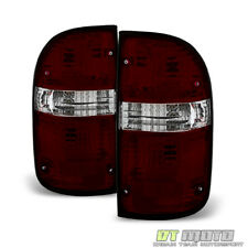 For 2001-2004 Toyota Tacoma Red Smoked Tail Brake Light Left+Right 01 02 03 04