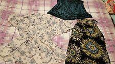 Womens size 10 top bundle H&M Wallis pink green