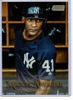 Miguel Andujar 2019 Topps Stadium Club 5x7 Gold #123 /10 Yankees