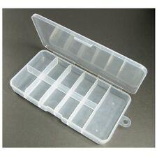 1~10 PCS Nail Art 11 Cells Empty Box Divided Case For Tips Rhinestone Decoration