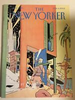2002 MARCH 11 NEW YORKER MAGAZINE - FRONT COVER IN & OUT BY EVER MEULEN