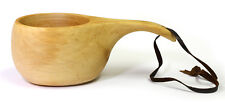 Kuksa Ancient Lapland Finland Wooden Drinking Cup No 15 for camping and outdoors