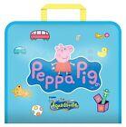 Peppa Pig Kids Aquadoodle Creative Drawing Fun Travel Bag Playset Toy