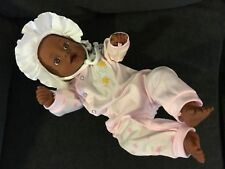"Berjusa? Berenguer? 17"" Aa Black Newborn Baby Girl Doll for Reborn?"