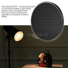 "Studio FLash Reflector 16.8cm 60°Honeycomb Grid for 7""Diffuser Lamp Shade F0B3"