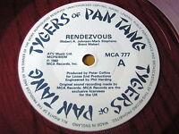 "TYGERS OF PAN TANG - RENDEZVOUS     7"" RED VINYL"