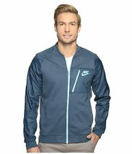 Nike Sportswear Advance 15 Fleece Squadron Blue Full-Zip Jacket Size L