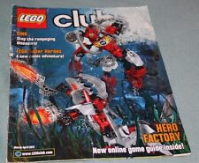 Lego Club Magazine March -April 2012 Lego Super Heroes - DINO